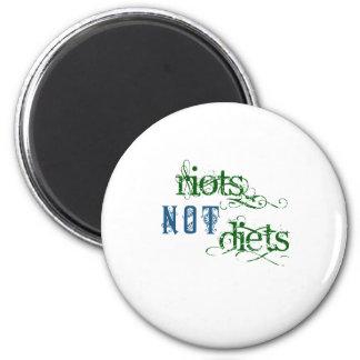 Dietas de los alborotos no imanes
