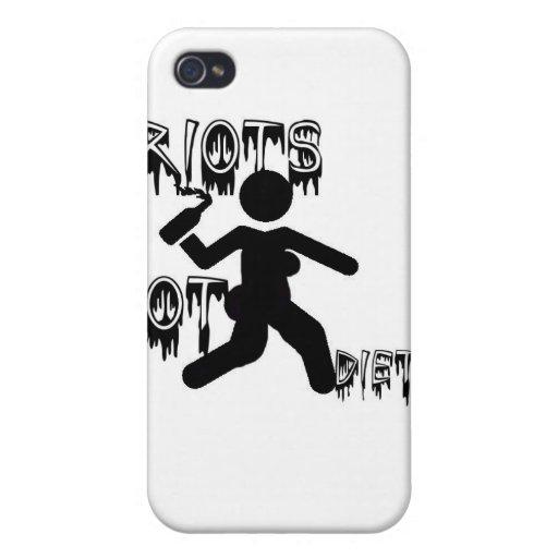 dietas de los alborotos no iPhone 4 protector