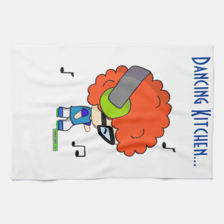 Dieter Curly Hair Kitchen Towel