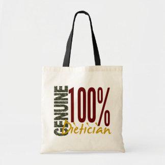 Dietético auténtico bolsa de mano