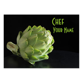 Dietético de la nutrición del cocinero tarjetas personales