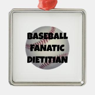 Dietético del fanático del béisbol adorno de reyes