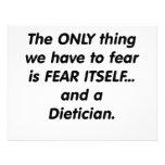 dietético del miedo anuncios personalizados