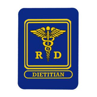 Dietético registrado imán