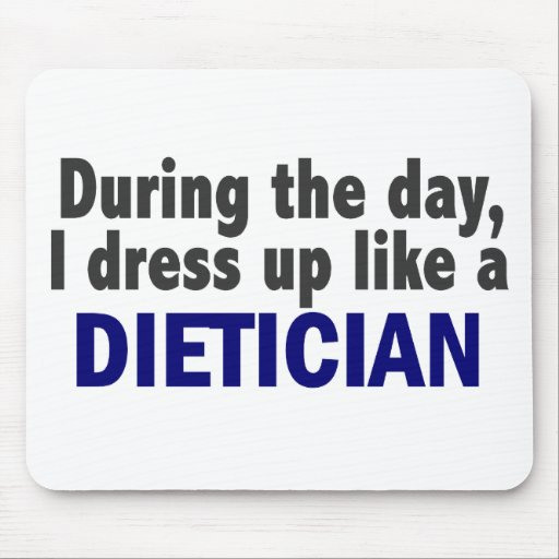 Dietician During The Day Mouse Pad