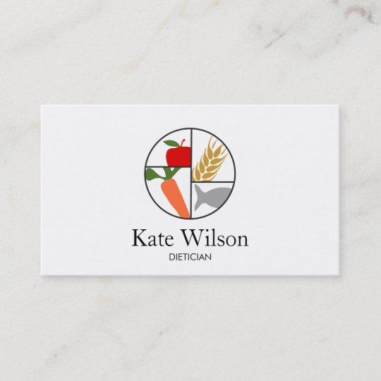 Dietician nutritionist business card zazzle dietician nutritionist business card colourmoves