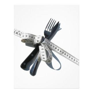 Dieting Letterhead