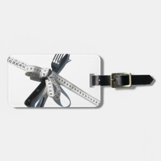 Dieting Luggage Tag