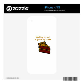 DIETING SKINS FOR iPhone 4S