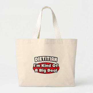Dietitian...Big Deal Jumbo Tote Bag