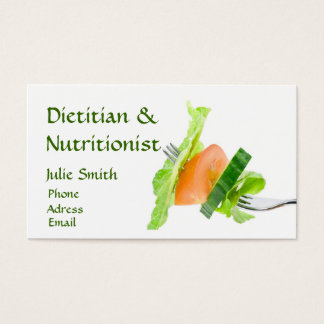 Dietitian Business Card
