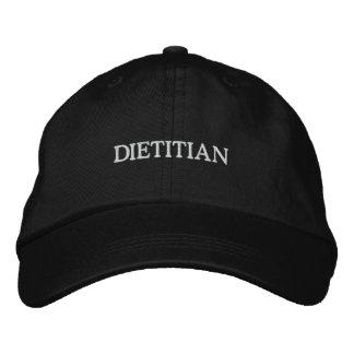 DIETITIAN CAP EMBROIDERED BASEBALL CAP