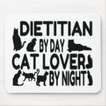 Dietitian Cat Lover Mouse Pad