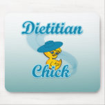 Dietitian Chick #3 Mouse Pads