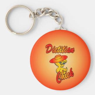 Dietitian Chick #5 Keychain