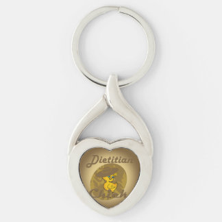 Dietitian chick #6 keychain