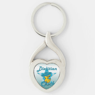 Dietitian Chick #7 Keychain