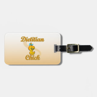 Dietitian Chick Bag Tag