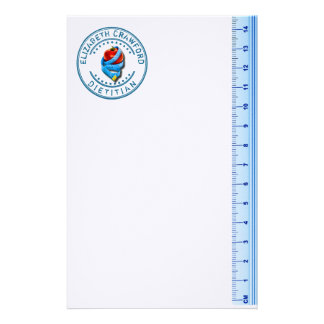 Dietitian Dietologist Doctor With Measuring Tape Stationery