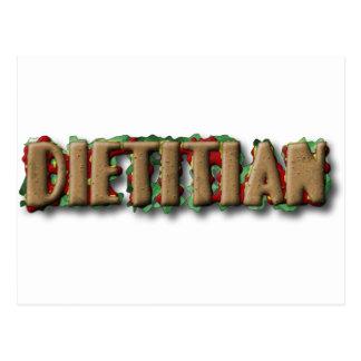 DIETITIAN HEALTHY SANDWHICH POSTCARD