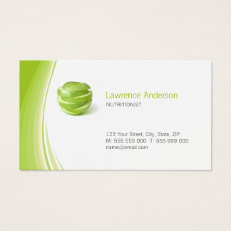 Dietitian / Nutritionist business card