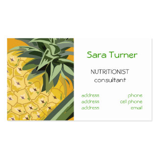 Dietitians and Nutritionists  Business Card