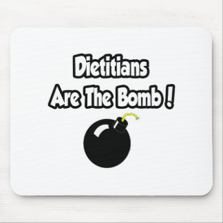 Dietitians Are The Bomb! Mouse Pad