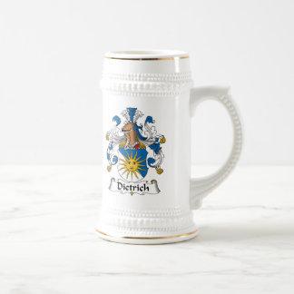 Dietrich Family Crest Beer Stein