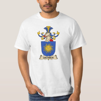 Dietrich Family Crests T-shirt