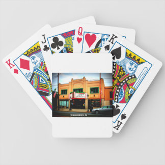 DIETRICH THEATER - TUNKHANNOCK, PA BICYCLE PLAYING CARDS