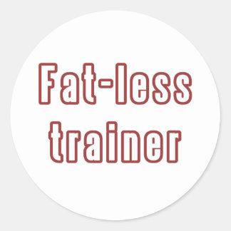 diettrainer classic round sticker