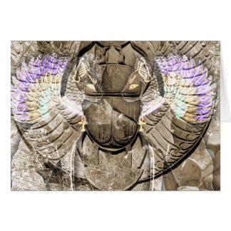 Diety Egyptian Pagan Digital Art Card