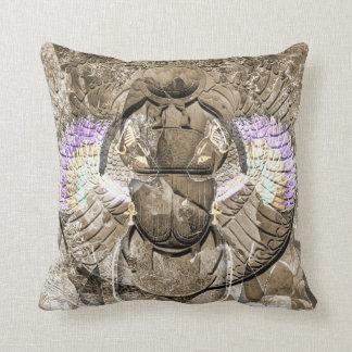 Diety Egyptian Pagan Digital Art Throw Pillow