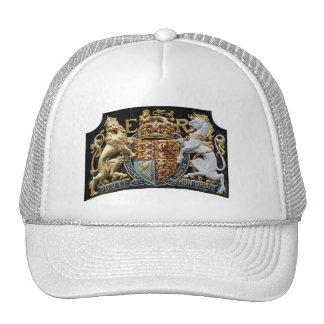 Dieu Et Mon Droit Crest Trucker Hat