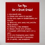 Diez extremidades para un gran grado poster