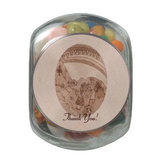 Diez gracias caseras del estreno de una casa de jarras de cristal jelly bely