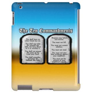 Diez mandamientos de la Sagrada Biblia, la ley de  Funda Para iPad