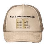 Diez mandamientos gorro