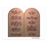 Diez mandamientos postal