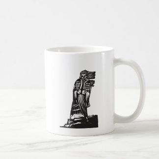 Diez mandamientos tazas de café