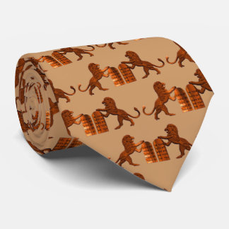 Diez mandamientos y leones corbata