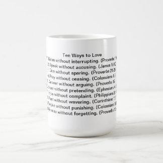Diez maneras de amar la taza