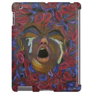 Diez redefinidos - conciencia del dolor de la célu funda para iPad