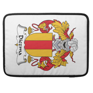 Diezma Family Crest Sleeves For MacBook Pro