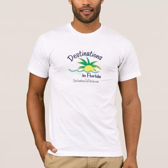 DiF_final, DestinationsInFlorida.com T-Shirt