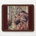 Difamación de Botticelli Sandro (la mejor calidad) Tapete De Raton