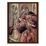 Difamación de Botticelli Sandro (la mejor calidad) Postales