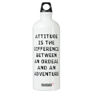 Diferencia de la actitud