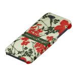 Diferente es el vintage hermoso floral iPhone 5 cárcasas