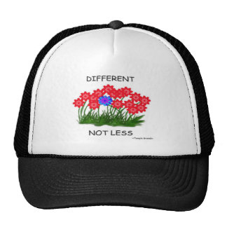 Diferente no menos gorras